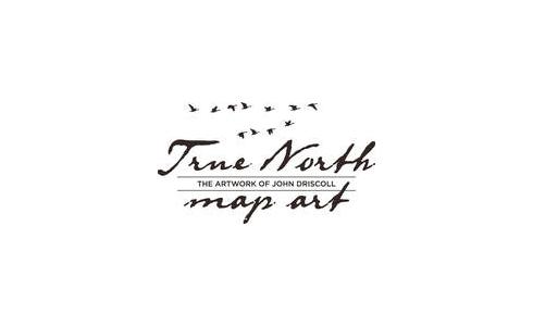 True North Map Art